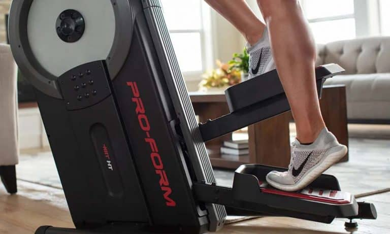 What is the Moderate Speed on Elliptical?