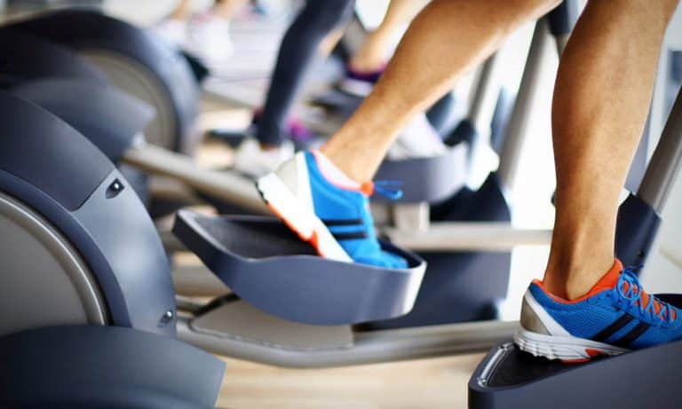 what muscles does an elliptical machine work
