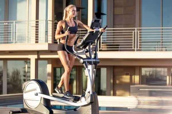 best elliptical for small space
