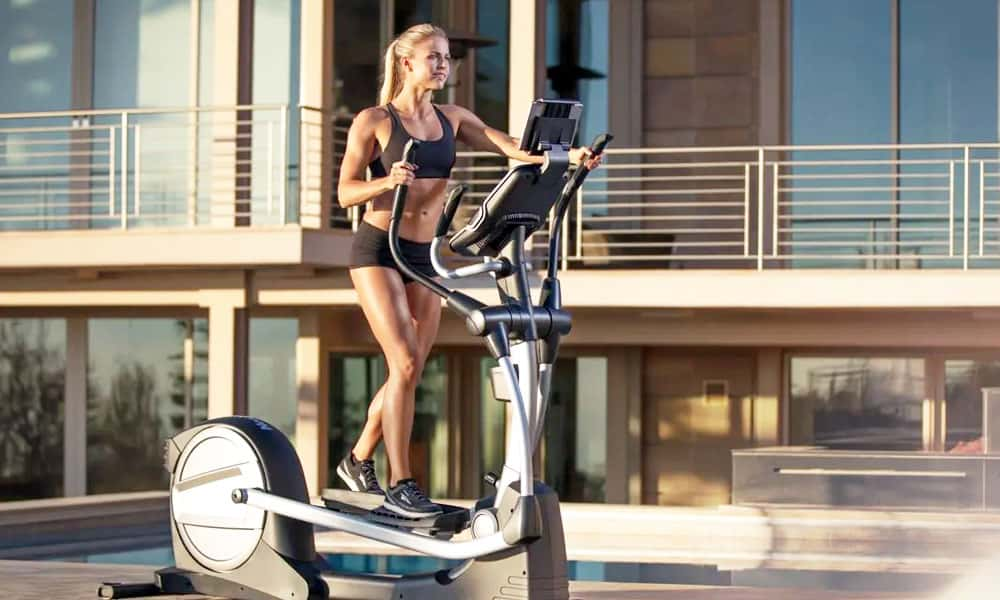 elliptical for small space