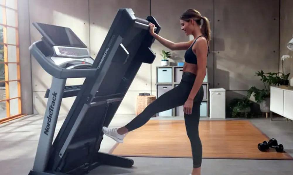 how to unfold a treadmill